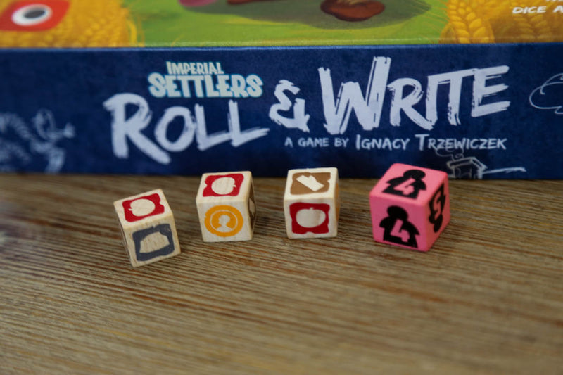 Imperial Settlers: Roll and Write Board Game - Macronova Games