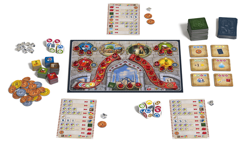Istanbul: The Dice Game Board Game - Macronova Games