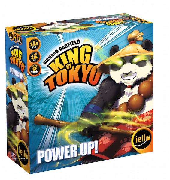 King of Tokyo Power Up Board Game - Macronova Games