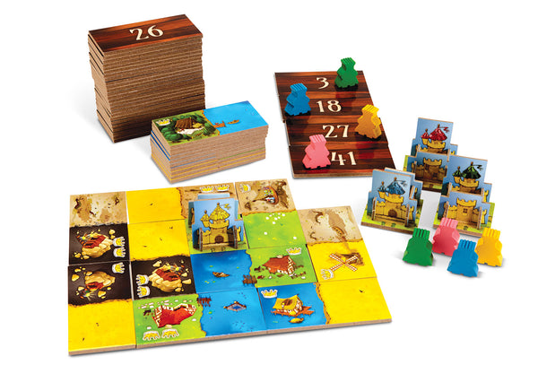 Kingdomino Board Game - Macronova Games