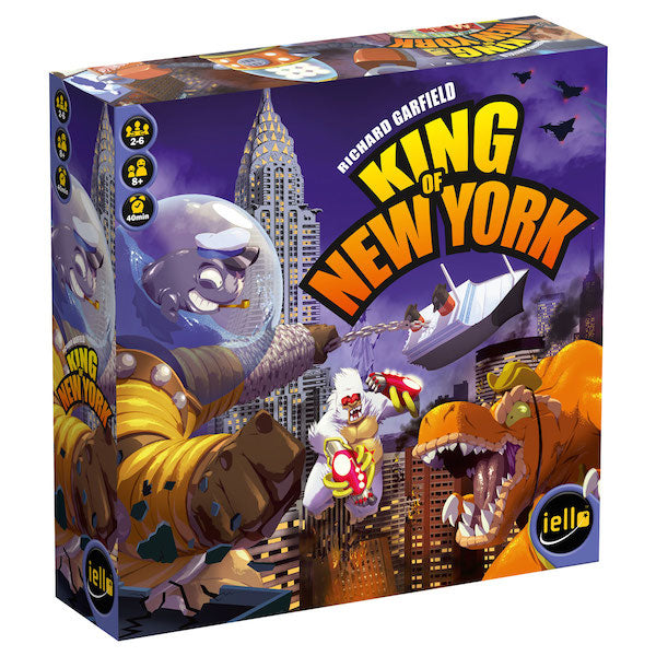 King of New York Board Game - Macronova Games
