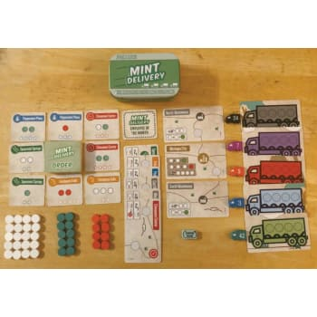 Mint Delivery Board Game - Macronova Games