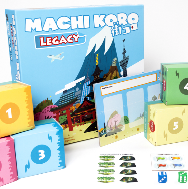 Machi Koro: Legacy Board Game - Macronova Games