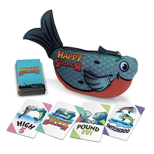 Happy Salmon: Blue Fish Board Game - Macronova Games