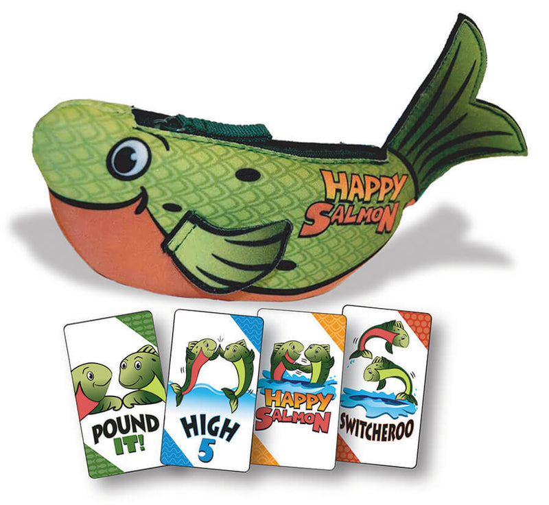 Happy Salmon: Green Fish Board Game - Macronova Games