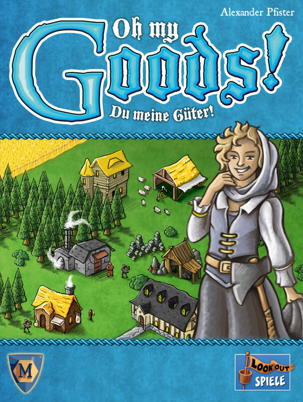 Oh My Goods Board Game - Macronova Games