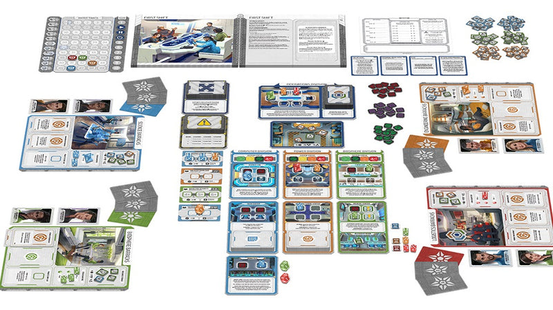 Gen7: A Crossroads Game Board Game - Macronova Games