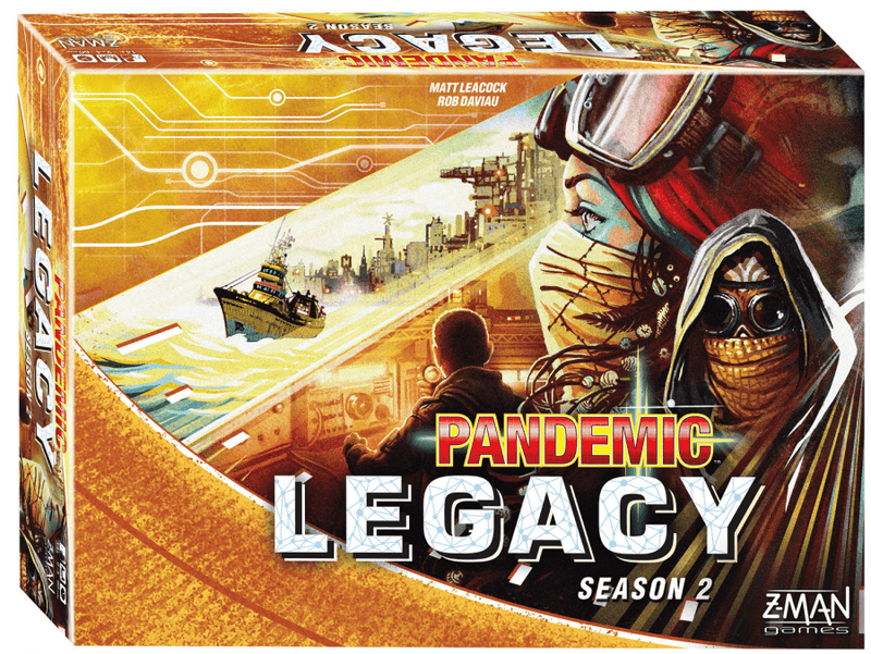 Pandemic: Legacy Season 2 - Yellow Board Game - Macronova Games