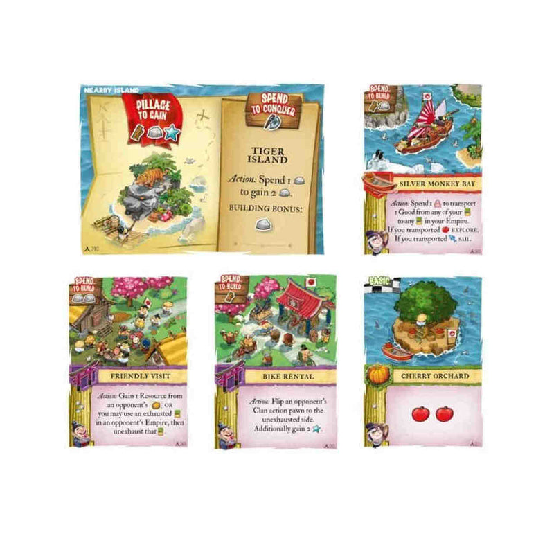 Imperial Settlers: Empires of the North - Japanese Islands Board Game - Macronova Games