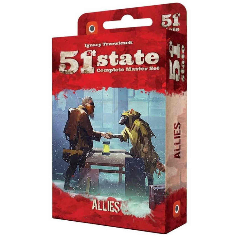 51st State Master Set - Allies Expansion Board Game - Macronova Games
