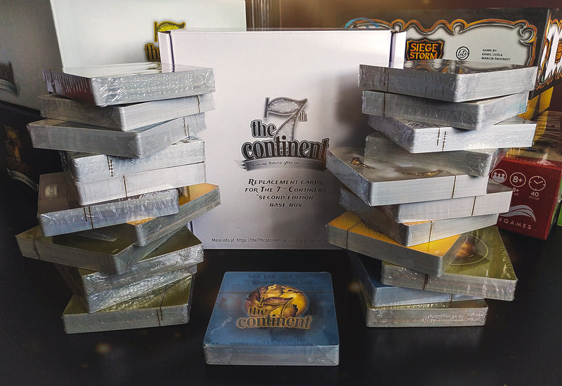 The 7th Continent Board Game - Macronova Games