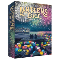 Lanterns Dice: Lights in the Sky Board Game - Macronova Games