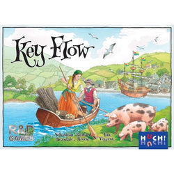 Key Flow Board Game - Macronova Games