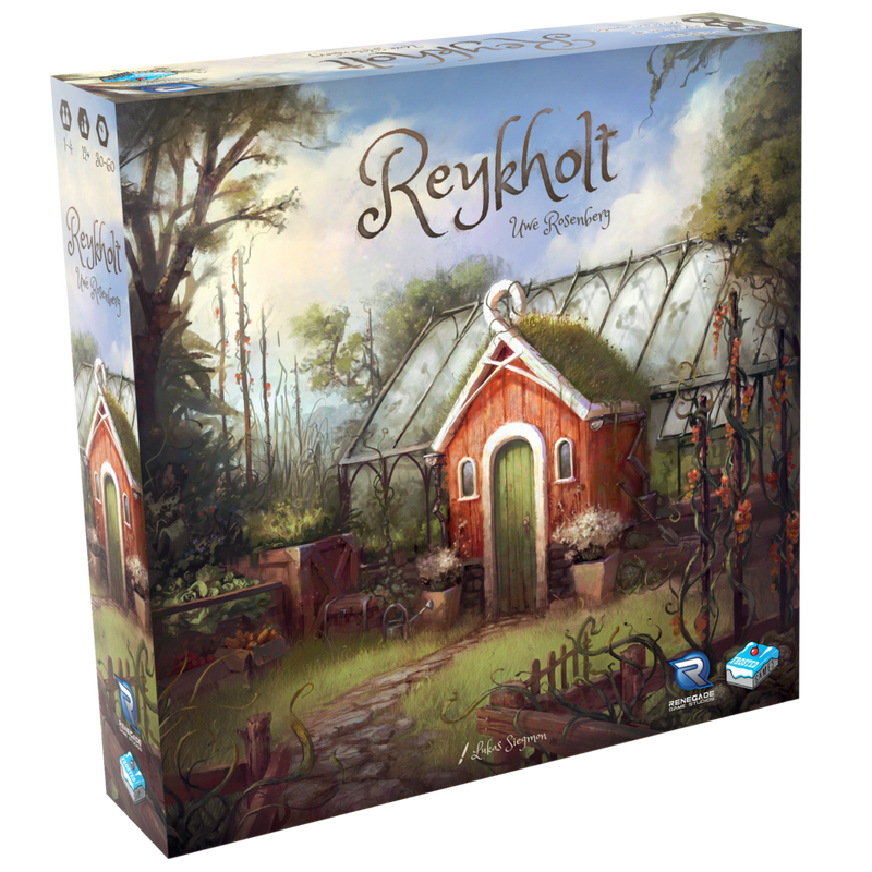 Reykholt Board Game - Macronova Games