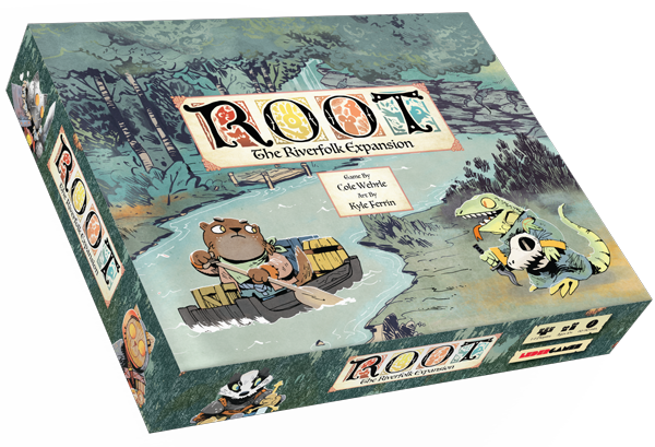 Root: The Riverfolk Expansion Board Game - Macronova Games