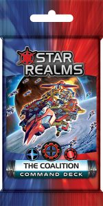 Star Realms: Command Deck - The Coalition Board Game - Macronova Games
