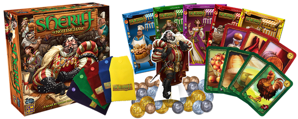 Sheriff of Nottingham Board Game - Macronova Games