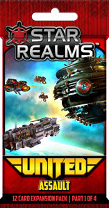 Star Realms: United - Assault Board Game - Macronova Games
