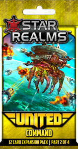 Star Realms: United - Command Board Game - Macronova Games