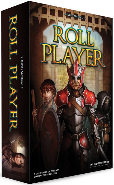 Roll Player Board Game - Macronova Games