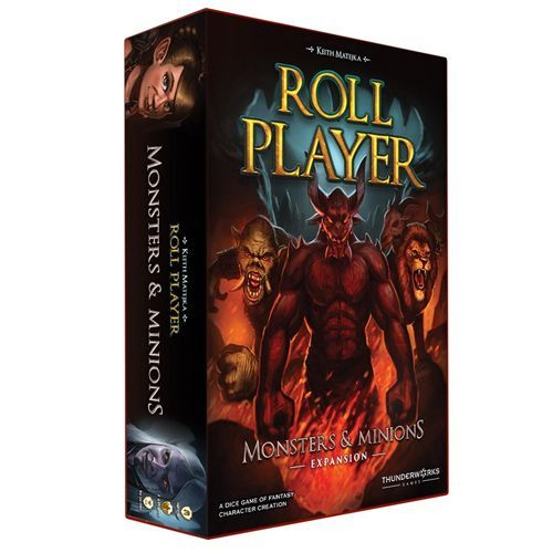 Roll Player: Monsters & Minions Board Game - Macronova Games