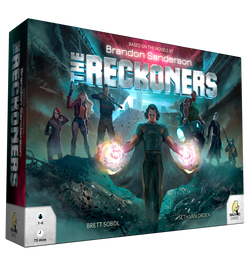 The Reckoners Board Game - Macronova Games