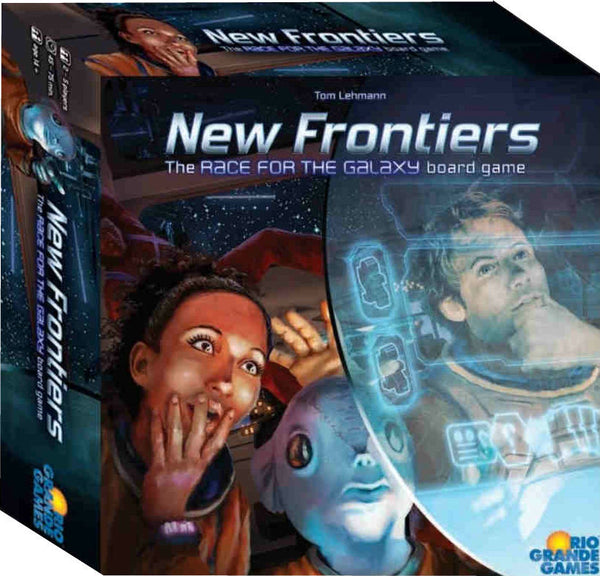 New Frontiers Board Game - Macronova Games