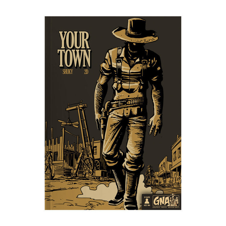 Graphic Novel Adventure - Your Town Book - Macronova Games