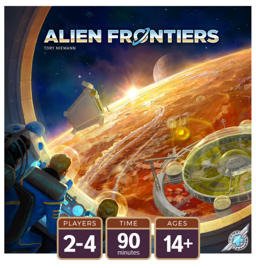Alien Frontiers (5th Edition) Board Game - Macronova Games