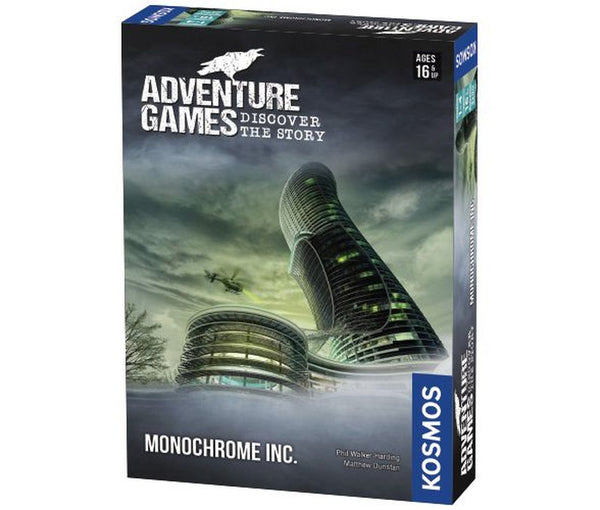 Adventure Games: Monochrome Inc