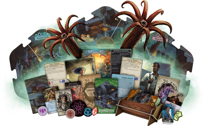 Arkham Horror: 3rd Edition - Core Set Board Game - Macronova Games