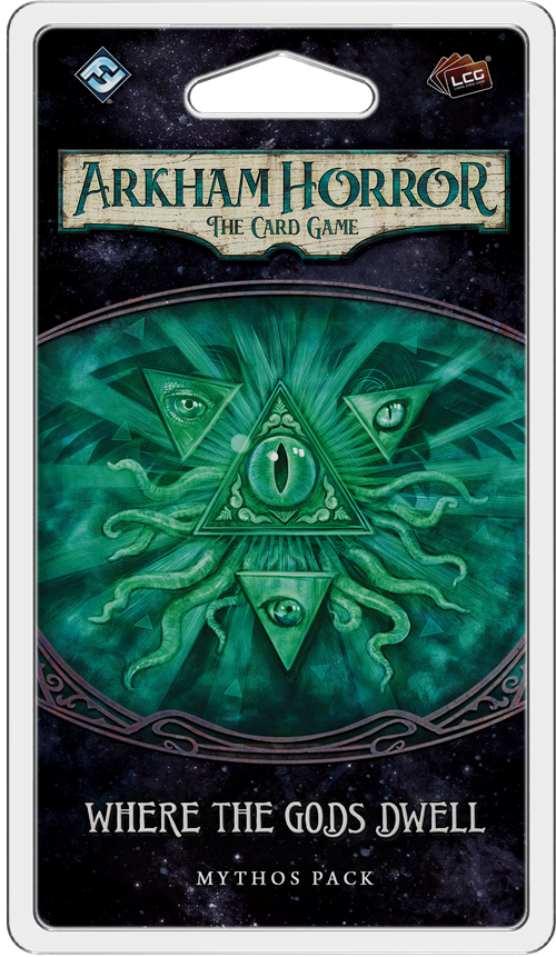 Arkham Horror: The Card Game Where the Gods Dwell Mythos Pack Board Game - Macronova Games