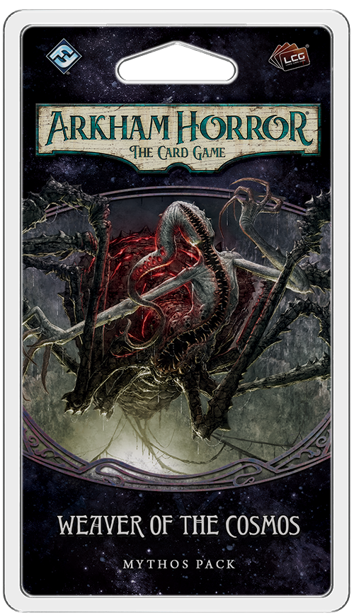 Arkham Horror: The Card Game Weaver of the Cosmos Mythos Pack Board Game - Macronova Games