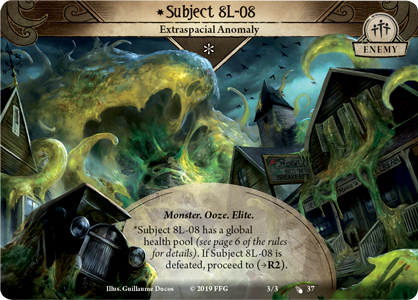 Arkham Horror: The Card Game The Blob That Ate Everything Scenario Pack Board Game - Macronova Games