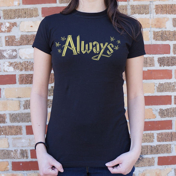 Always T-Shirt (Ladies) Ladies T-Shirt - Macronova Games