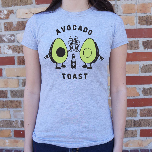 Avocado Toast T-Shirt (Ladies) Ladies T-Shirt - Macronova Games