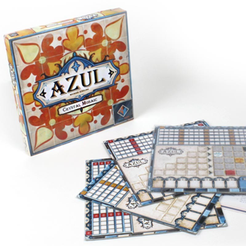 Azul Crystal Mosaic Board Game - Macronova Games