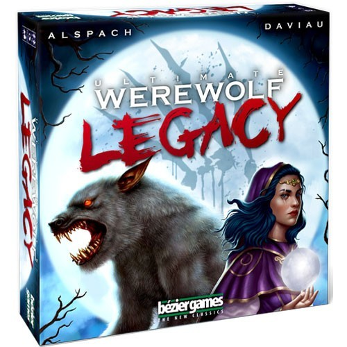 Ultimate Werewolf Legacy Board Game - Macronova Games