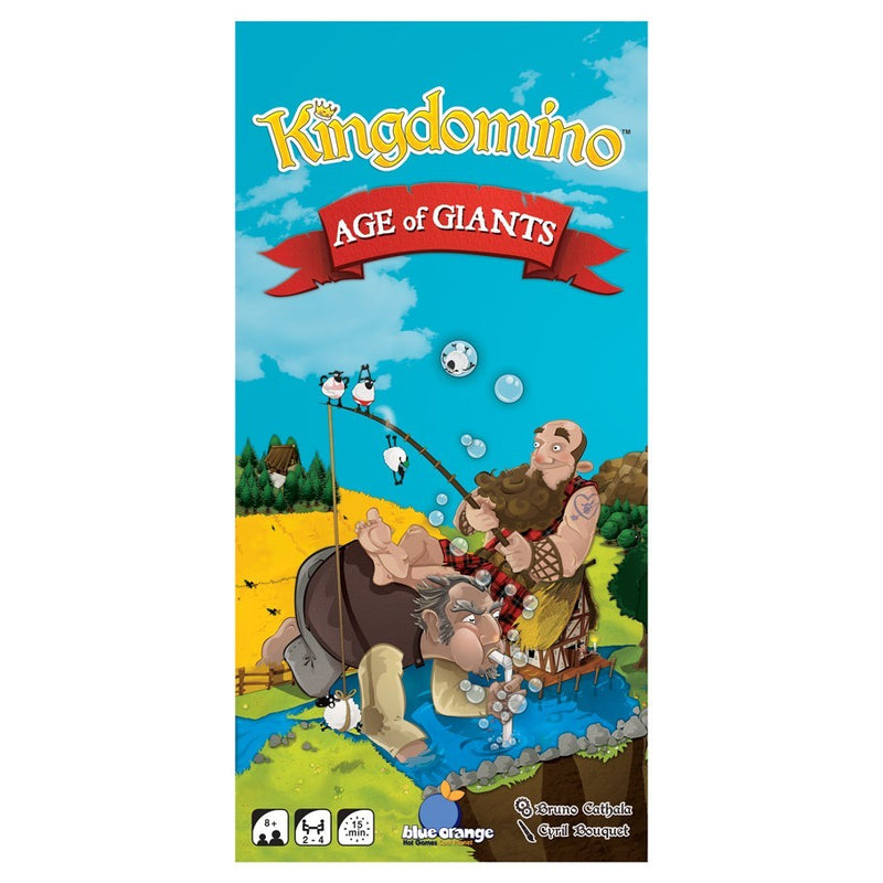 Kingdomino: Age of Giants Board Game - Macronova Games