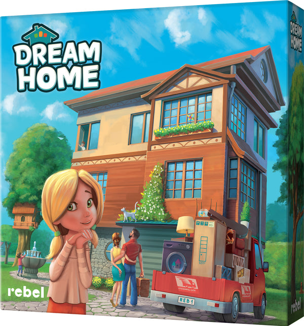 Dream Home Board Game - Macronova Games