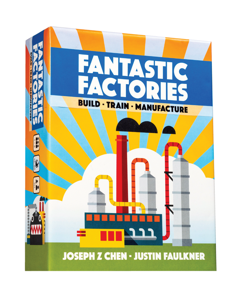 Fantastic Factories Board Game - Macronova Games