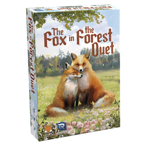 The Fox in the Forest Duet Board Game - Macronova Games
