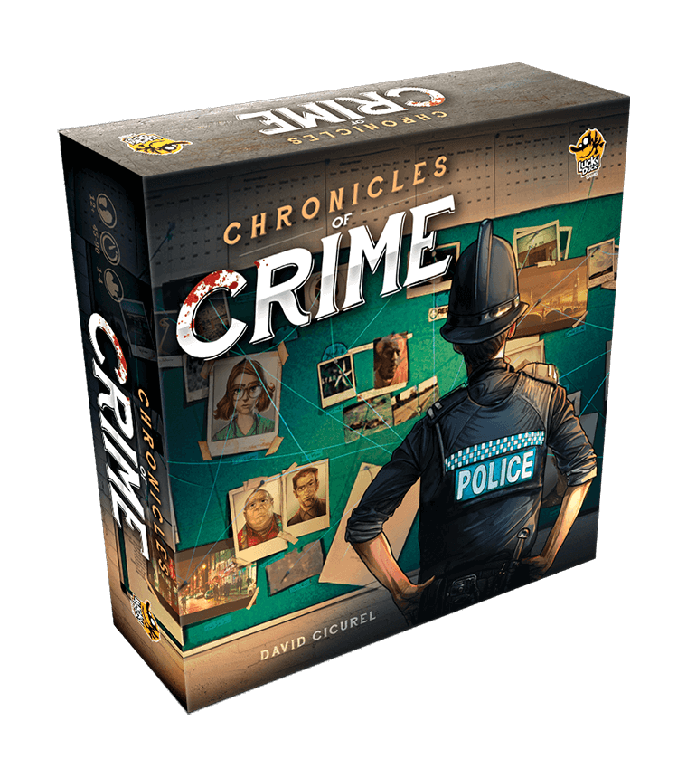 Chronicles of Crime Board Game - Macronova Games