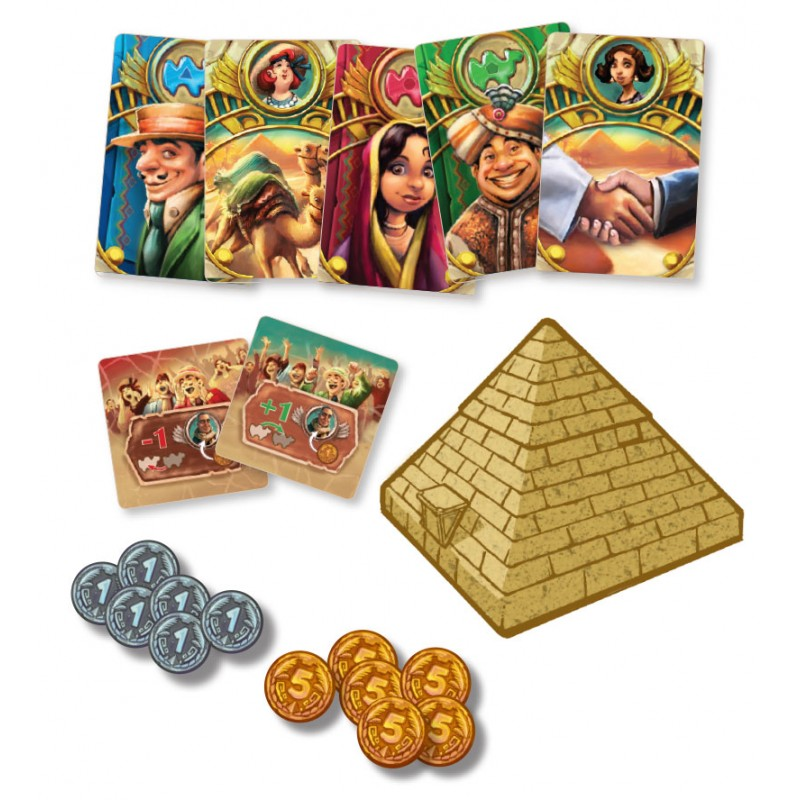 Camel Up Board Game - Macronova Games