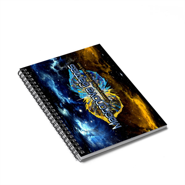 Macronova Games Spiral Notebook - Ruled Line Paper products - Macronova Games