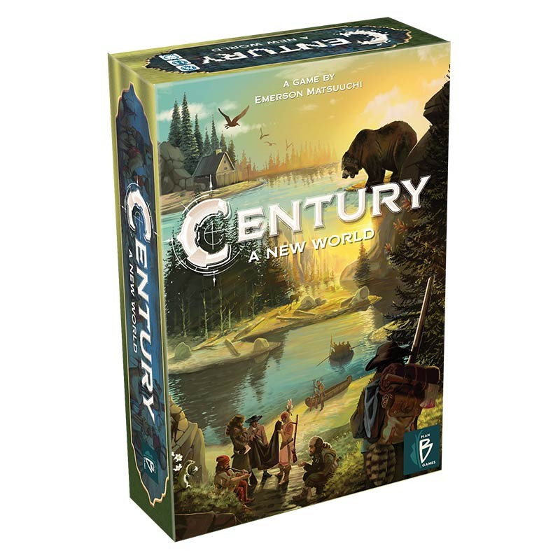 Century: A New World Board Game - Macronova Games