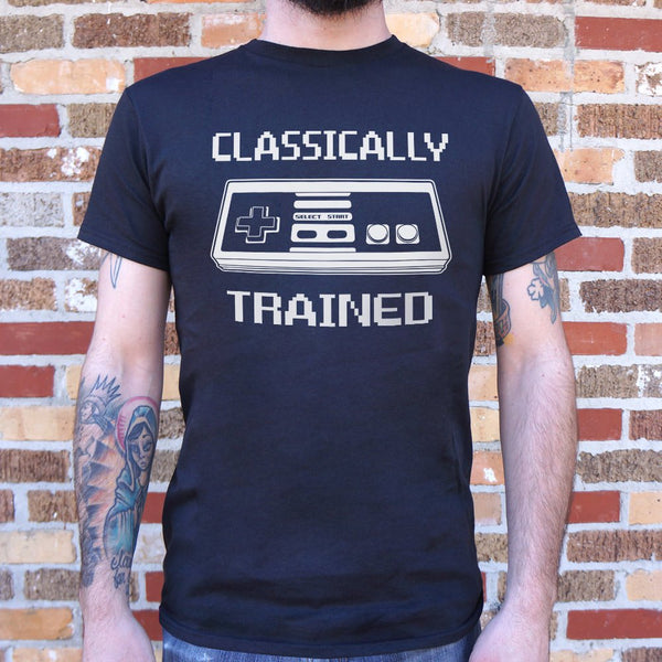 Classically Trained T-Shirt (Mens) Mens T-Shirt - Macronova Games