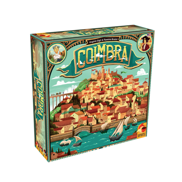 Coimbra Board Game - Macronova Games