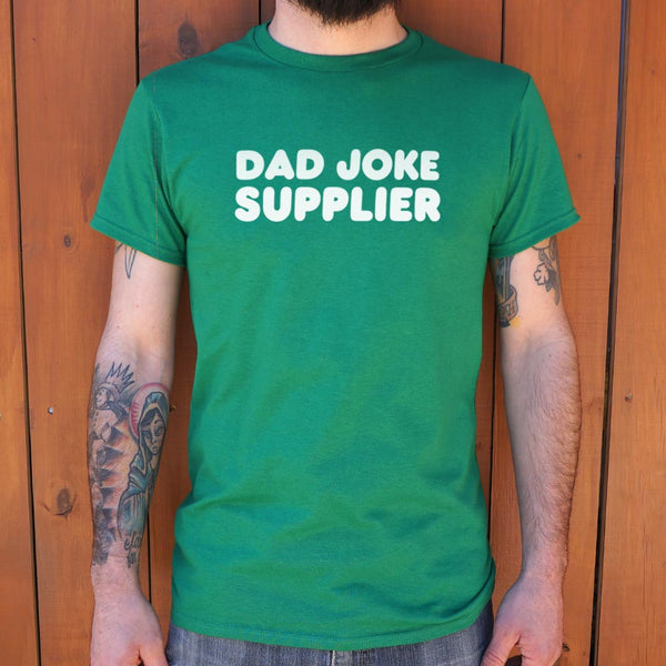 Dad Joke Supplier  T-Shirt (Mens) Mens T-Shirt - Macronova Games