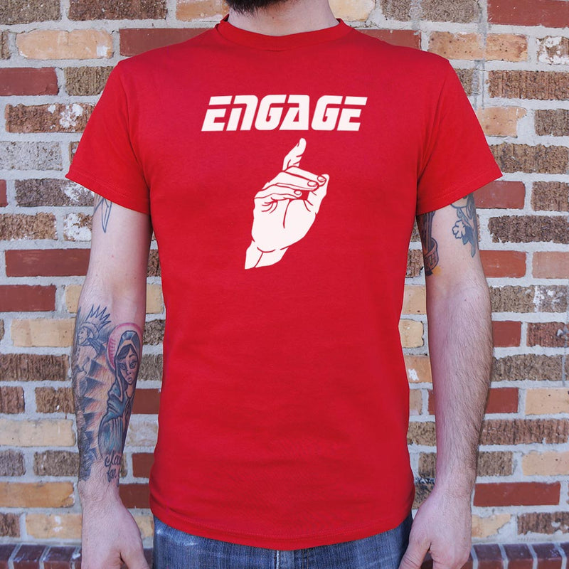 Engage T-Shirt (Mens) Mens T-Shirt - Macronova Games